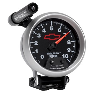 "Autometer GM 3-3/8"" TACH, 10,000 RPM, SHIFT-LITE"