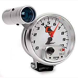 "Autometer C2 5"" TACH, 10,000 RPM, SHIFT-LITE"