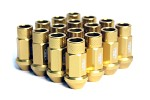 Blox Racing Street Series Forged Lug Nuts, 12 x 1.5mm - Set of 16 Gold