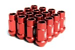 Blox Racing Street Series Forged Lug Nuts, 12 x 1.5mm - Set of 16 Red