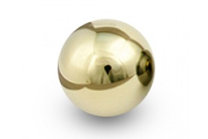 "Blox Racing 490 ""Limited Series"" Spherical Shift Knob, 12x1.5 - 24K Gold"