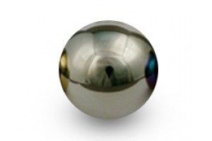 "Blox Racing 490 ""Limited Series"" Spherical Shift Knob, 12x1.5 - Platinum"