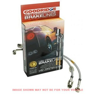 Goodridge Brake Lines -  91-02 SATURN S SERIES SC, SL, SW Rear Disc