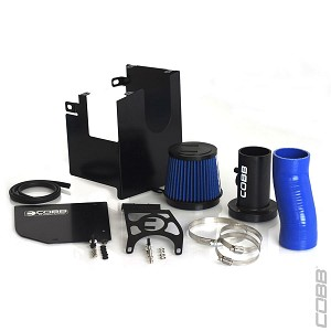 COBB Tuning - SF Intake and Air Box Combo for '05-'09 Legacy GT (Blue Silicone)