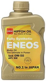 ENEOS Synthetic Motor Oil 0W-50 (6 Quarts)