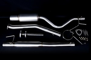 Buddy Club Spec III Exhaust 1989-93 Nissan 240SX S13
