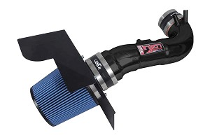 Injen Short Ram Intake - 2008-10 Lexus Lexus IS-F 5.0L V8 Tuned with MR Technology, Air Fusion and heat shield (BLACK)