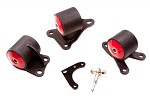 Innovative Motor Mounts - 1994-01 Integra or 92-95 Civic Replacement Mount Kit for B and D Series with Cable Transmission and 2 Bolt Post Mount Setup