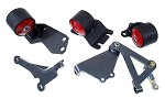 Innovative Motor Mounts - 1988-91 Civic and CRX Conversion Mount Kit for B Series Engines with Hydraulic Transmission