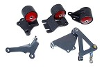 Innovative Motor Mounts - 1992-93 Integra Conversion Mount Kit for B Series with Hydraulic Transmission