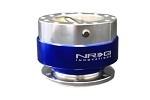 NRG Innovations - Quick Release Gen 1.0 (Silver Body w/ Blue Ring)