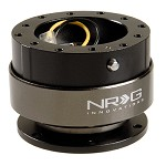 NRG Innovations Quick Release Gen 2.0 Black Body/Titanium Chrome Ring