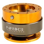 NRG Innovations Quick Release Gen 2.0 Rose Gold Body/ Titanium Chrome Ring