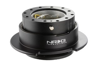 NRG Innovations Quick Release Gen 2.5 Black/Black Ring