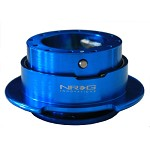 NRG Innovations Quick Release Gen 2.5 New Blue Body/Titanium Chrome Ring