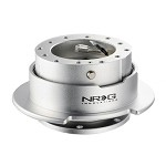 NRG Innovations Quick Release Gen 2.5 (Silver Body w/ Silver Ring)