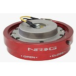 NRG Innovations Thin Quick Release Red