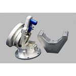 NRG Innovations Steering Wheel Quick Tilt System with Lock - Silver