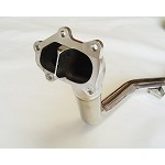 INVIDIA DIVORCDE WASTE GATE DOWNPIPE - 2002-07 SUBARU WRX/STI