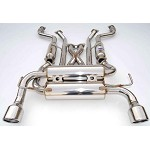 INVIDIA GEMINI ROLLED STAINLESS STEEL TIPS CAT-BACK EXHAUST - 2009-UP NISSAN 370Z