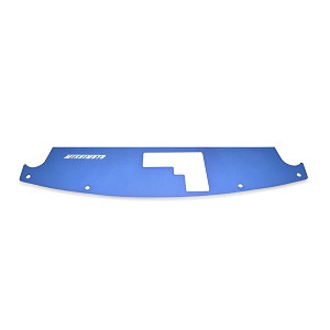 Mishimoto - 2003-06 Nissan 350Z Air Diversion Plate, Blue Finish