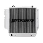 Mishimoto Aluminum Radiator - 1987-06 Jeep Wrangler YJ and TJ, Manual and Automatic