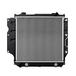 Mishimoto OEM Replacement Radiator - 1987-95 Jeep Wrangler YJ L4 & L6, Automatic and Manual