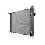 Mishimoto OEM Replacement Radiator - 1993-97 Jeep Grand Cherokee ZJ 5.2L, Automatic and Manual