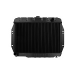 Mishimoto OEM Replacement Radiator - 1973-86 Jeep CJ L6 & 5.0L, Automatic & Manual
