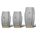 MOMO Pedal Kit - Shield Manual Silver
