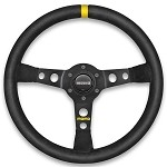 MOMO Steering Wheel MOD. 07 - Black Leather 350mm