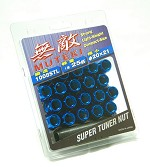 MUTEKI LUG NUTS 12X1.25 - BLUE OPEN