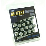 MUTEKI LUG NUTS 12X1.25 - CHROME CLOSED
