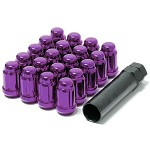 MUTEKI LUG NUTS 12X1.25 - PURPLE CLOSED