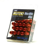MUTEKI LUG NUTS 12X1.50 - RED CLOSED