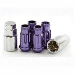 MUTEKI SR48 LOCK SET 12X1.5 - PURPLE 48MM