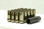 MUTEKI SR48 LUG NUTS OPEN END 12X1.25 - TITANIUM 48MM