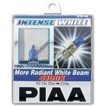 PIAA BULB - H3 INTENSE WHITE 55W=110W XTRA, TWIN PACK
