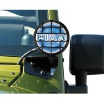 PIAA 540 SERIES XTREME WHITE PLUS DRIVING KIT W/BRACKETS - 1997-06 JEEP WRANGLER (TJ)