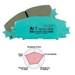 Project Mu Racing: N1-Racing - 2004-12 Subaru WRX STi (Rear Brake Pads)
