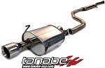 Tanabe Medallion Touring Cat Back Exhaust - 1994-1999 Acura Integra GSR