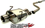 Tanabe Medallion Touring Cat Back Exhaust - 1996-2000 Honda Civic Hatchback