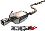 Tanabe Medallion Touring Cat Back Exhaust - 2000-2001 Acura Integra GSR