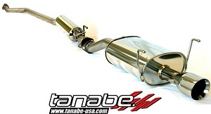 Tanabe Medallion Touring Cat Back Exhaust - 2002-2005 Acura RSX Non Type S