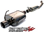Tanabe Medallion Touring Cat Back Exhaust - 2002-2005 Honda Civic SI Hatchback