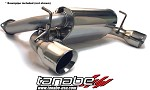 Tanabe Medallion Touring Cat Back Exhaust - 2003-2006 Nissan 350Z