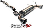 Tanabe Medallion Touring Cat Back Exhaust - 2003-2007 Infiniti G35 Coupe