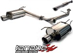 Tanabe Medallion Touring Dual Cat Back Exhaust - 2003-2006 Acura TSX