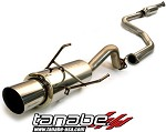 Tanabe Medallion Concept G Cat Back Exhaust - 1996-2000 Honda Civic Coupe Si