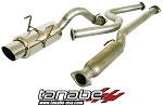 Tanabe Medallion Concept G Cat Back Exhaust - 1996-2000 Honda Civic Hatchback